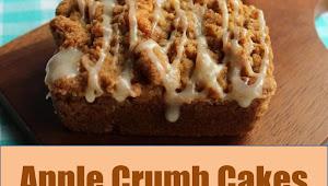 #Monday #Recipe #Apple #Crumb #Cakes