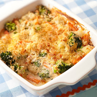 Vegetable casserole in a multivariate
