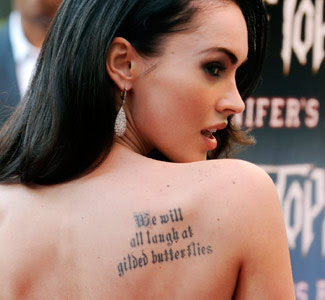 News Feed Celebrity Tattoos