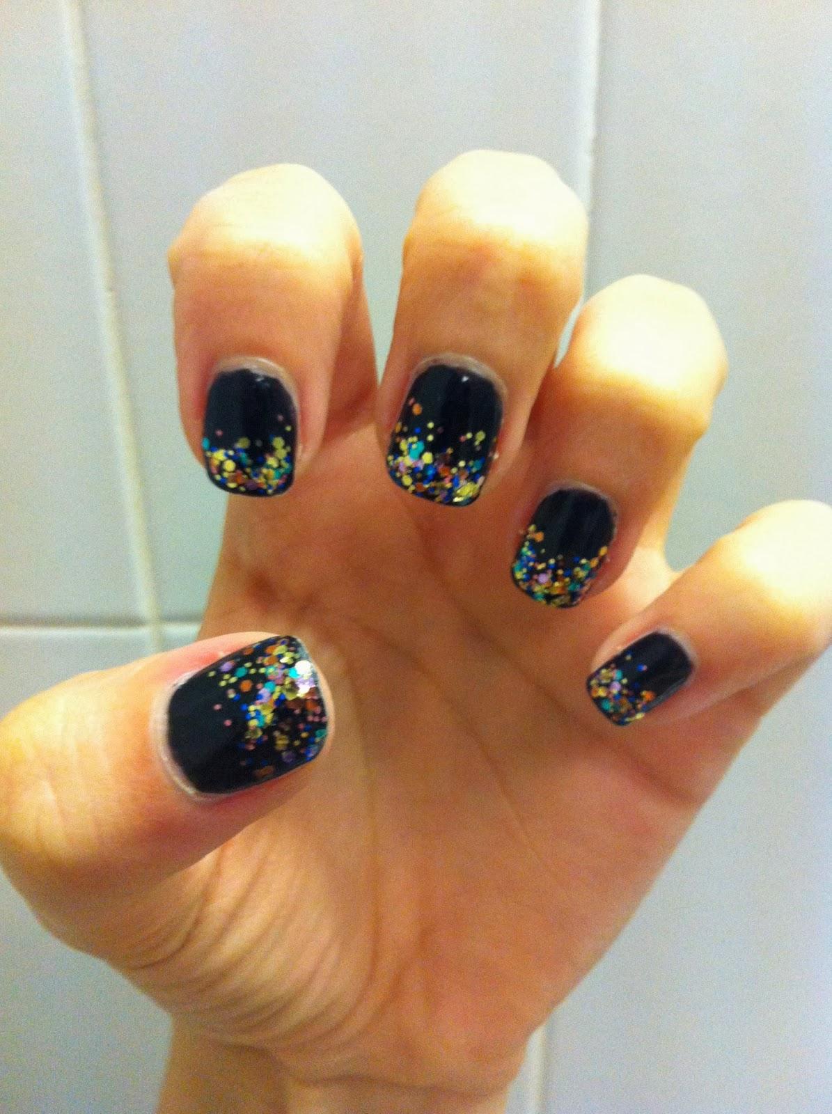Something Kinda Cloughton: Manicure Monday 5: Black Nails