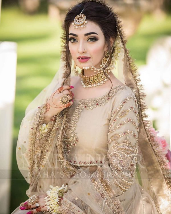 Nawal Saeed Looking Dream Girl in her Latest Bridal Photoshoot