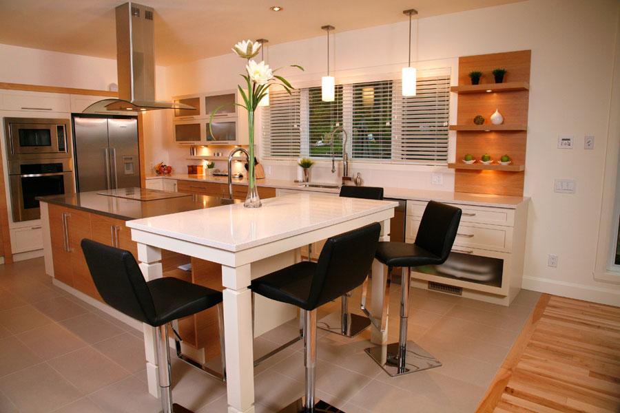 cuisine decoration style classique. Black Bedroom Furniture Sets. Home Design Ideas
