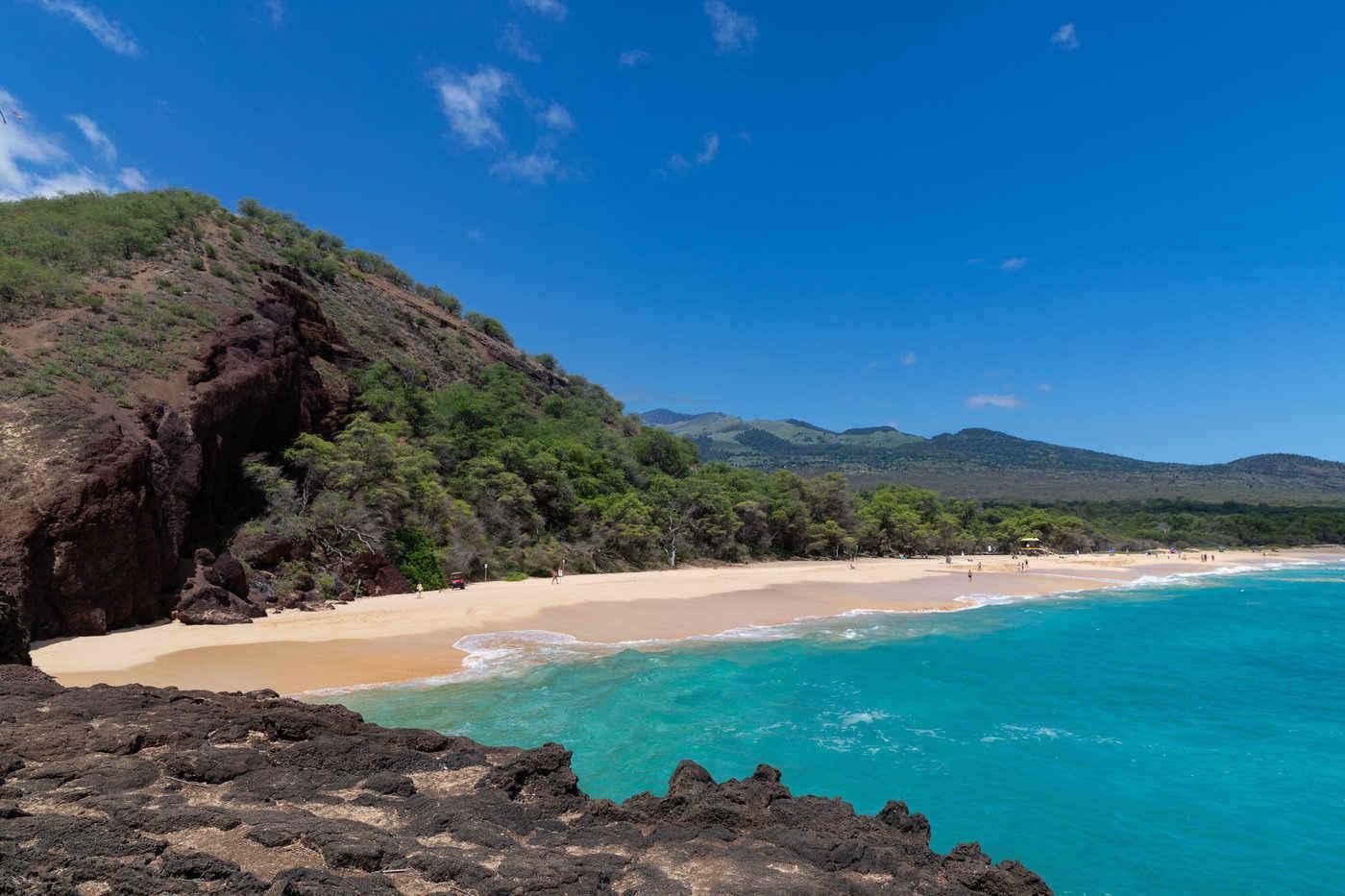 makena beach - most stunning beaches in hawaii