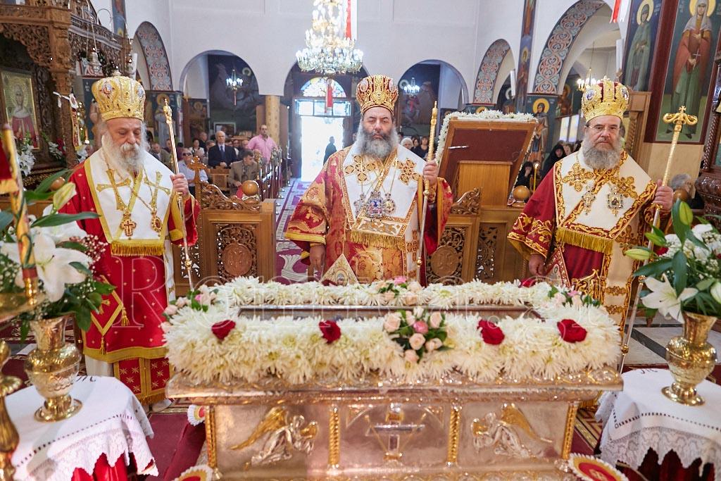 Λαμπρά εορτάστηκε η Αγία Ακυλίνα στη γενέτειρα της (ΦΩΤΟ)