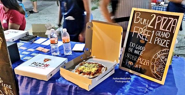 Sandakan Food Festival 2019 Food - Pull Pork Pizza