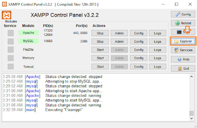 How To Install & Configure XAMPP On Windows 10 - Step By Step 14