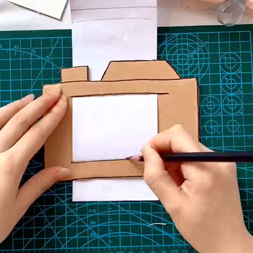 DIY Cardboard Camera  DIY Toy for Kids