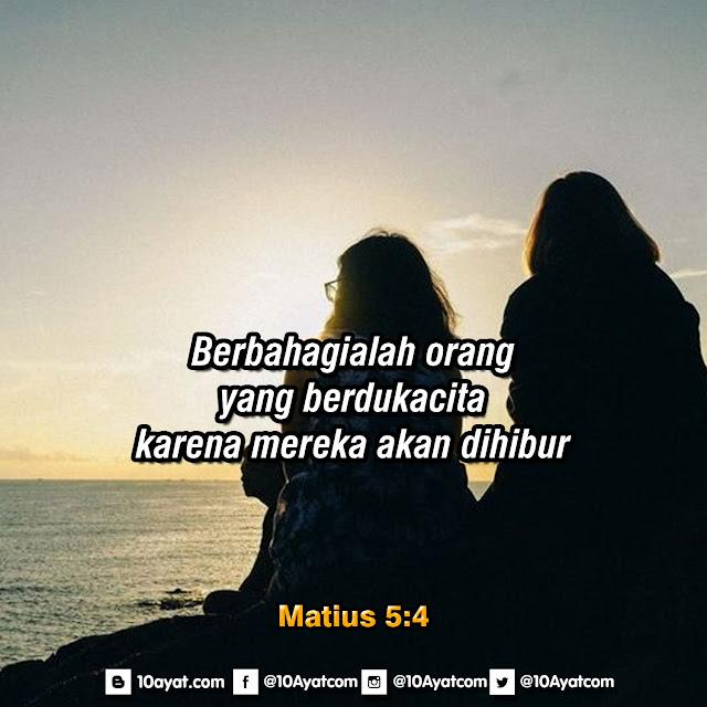 Matius 5:4