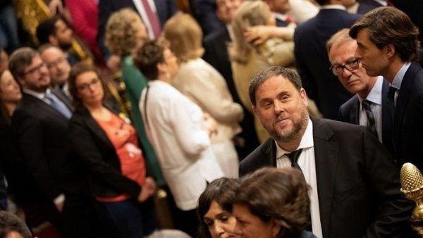 España: niegan a líder catalán acreditarse como eurodiputado