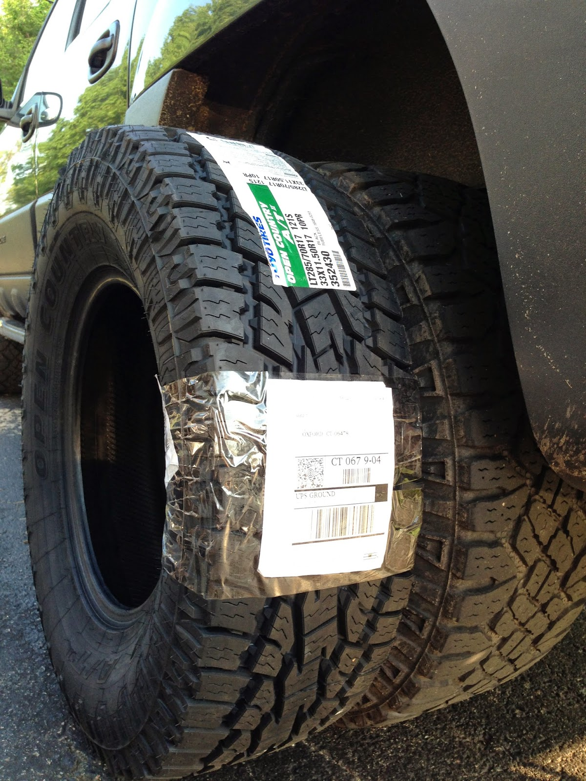 Roody's reviews, thoughts and ramblings: Tire Comparison ...