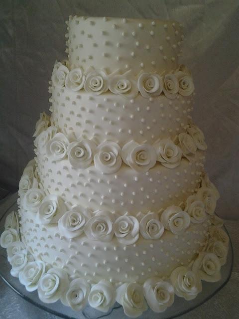 Bolo Falso para casamento