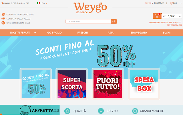promozioni weygo