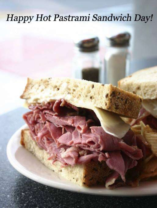 National Hot Pastrami Sandwich Day Wishes Photos