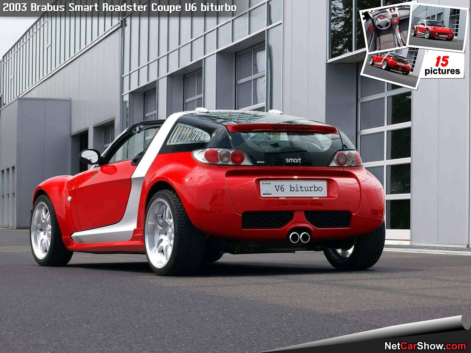 Brabus-Smart_Roadster_Coupe_V6_biturbo-2003-1600-0d Interesting Info About How to Make A Car Louder with Extraordinary Images Cars Review
