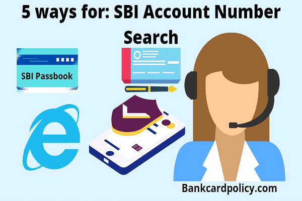 5 ways for SBI Account Number Search