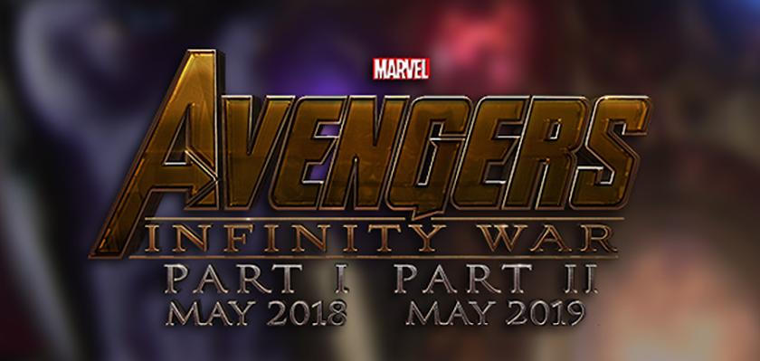 Logo Avengers: Infinity War - Part I și Avengers: Infinity War - Part II