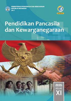 Buku Materi Pelajaran PPKN kelas 11 kurikulum 2013