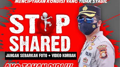 Polres Toraja Utara : Jangan Sebar Video dan Foto Bom Bunuh Diri di Makassar