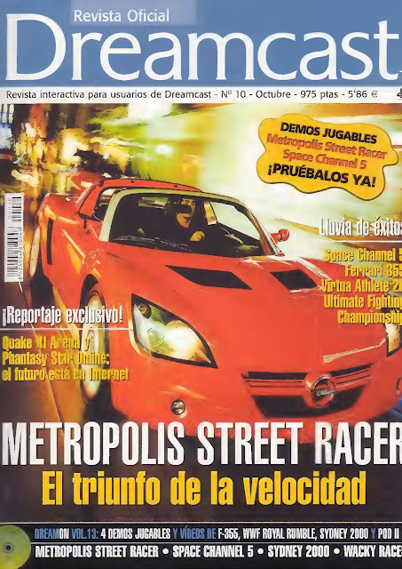 Revista Oficial Dreamcast Issue N°10