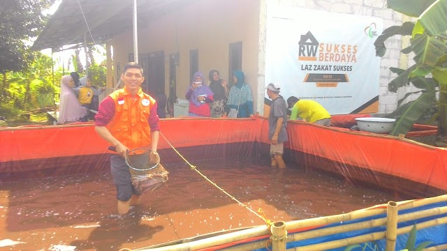 RW Binaan Zakat Sukses Panen Perdana Ikan Lele