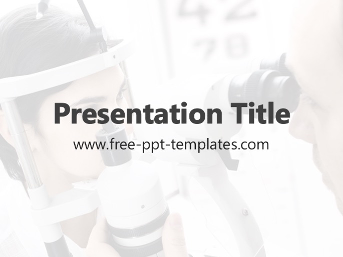 Ophthalmology powerpoint template toneelgroepblik Gallery