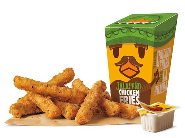 Burger King Launches New Jalapeno Chicken Fries