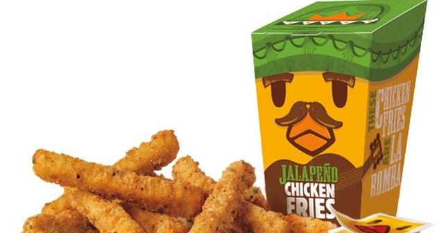 Burger King Launches New Jalapeno Chicken Fries | Brand Eating
