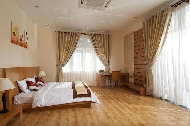 Phòng ngủ tại Sea links mũi né