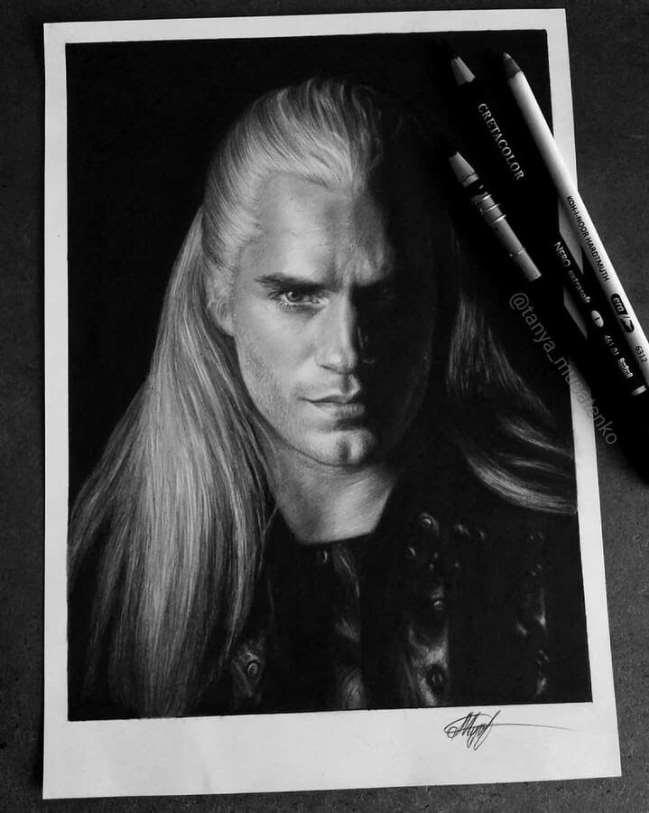 01-Henry-Cavill-The-witcher-Таня-Мусатенко-www-designstack-co