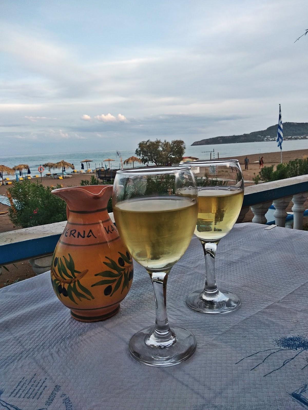 faliraki rodos rhodes wino grecja karyn blog modowy blogerka modowa podróż poślubna