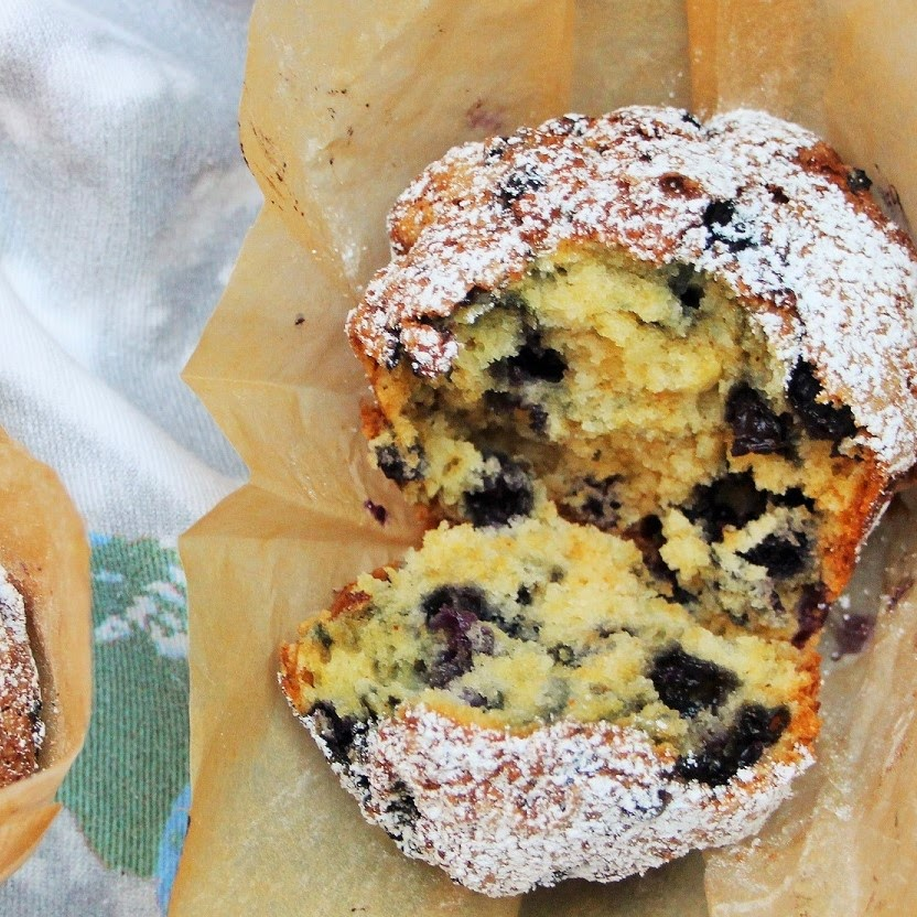 Original  Blueberry- Muffins