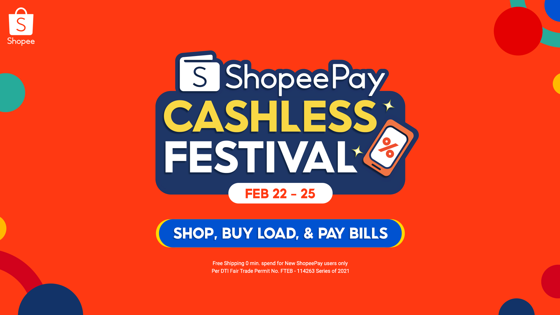 Enjoy Free Shipping, Cashback, and More at the 3.3 ShopeePay Cashless Festival
