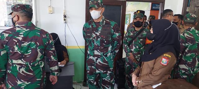 Dandim 0208/Asahan Hadiri Pelaksanaan Serbuan Vaksinasi Diwilayah Kota Tanjung Balai