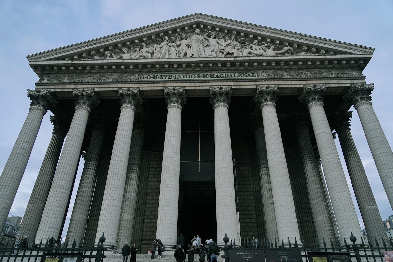 マドレーヌ寺院(Église de la Madeleine)