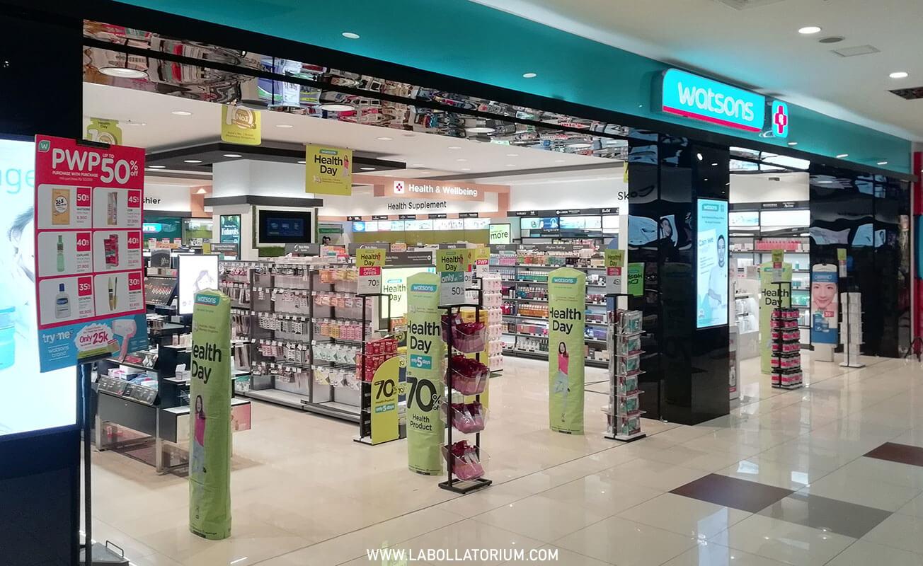 #JadiMemberPastiUntung Belanja di Watsons Offline Store