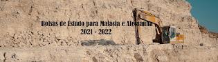 Bolsas de Estudo para licenciatura-Malásia e Alemanha 2021/2022
