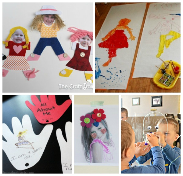 25 all about me activities free printables