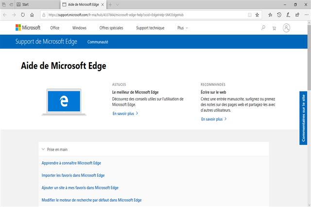 تحميل متصفح الإنترنت مايكروسوفت إيدج بيتا مجانا
