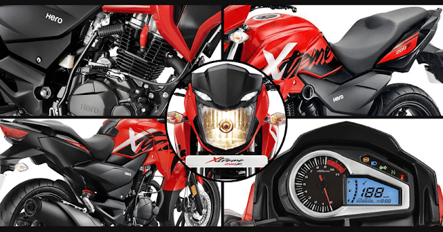New Hero Xtreme 200R all features