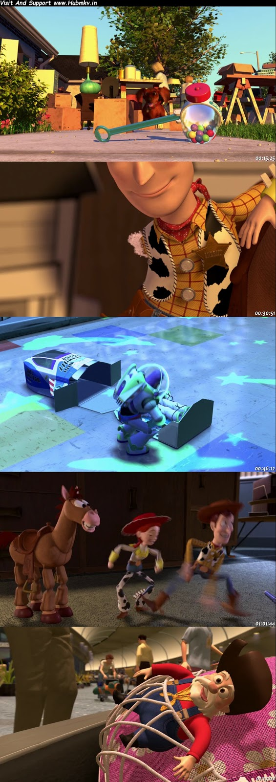 Toy Story 1 (1995) 480p Dual Audio In [Hindi English]