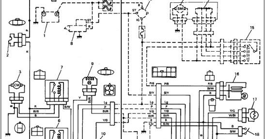 Repair Manual Download: Suzuki Swift Wiring diagram
