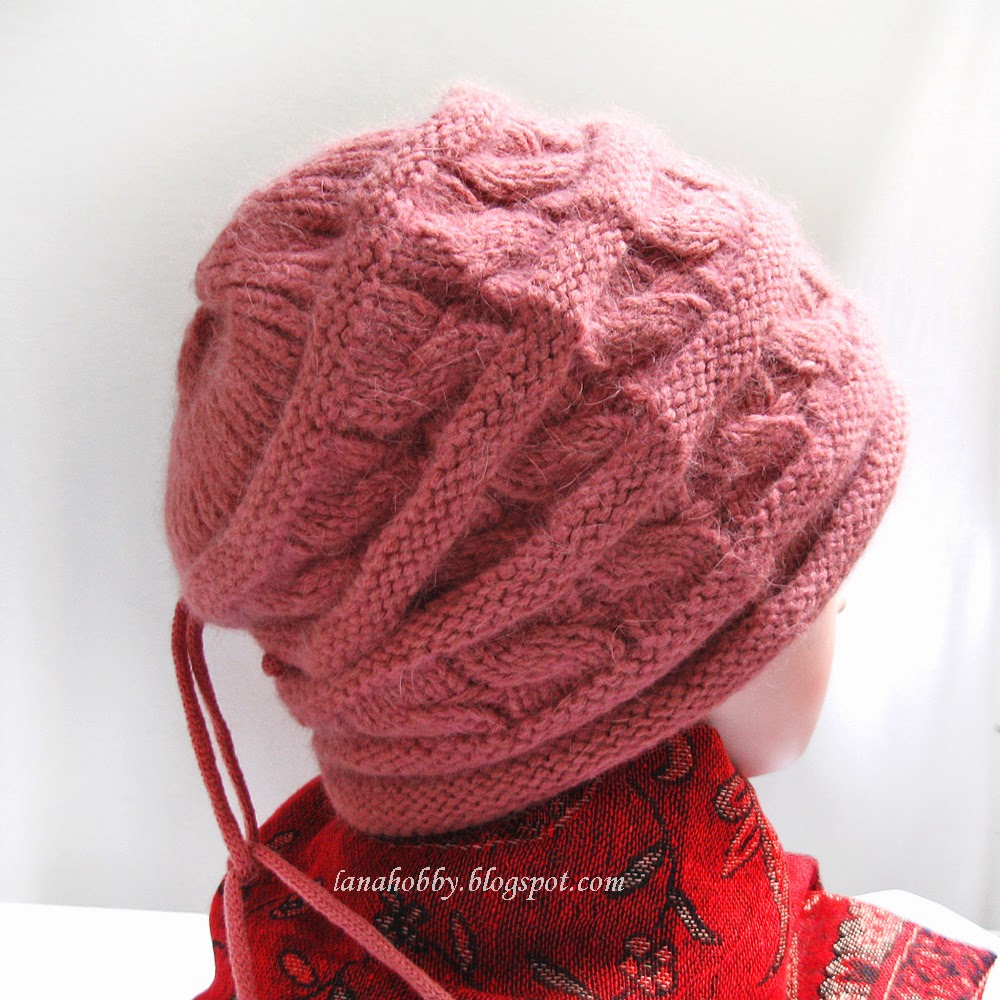 Beanie Knitting Pattern Straight Needles : Lana creations My knitting work, knit project and free patterns catalogue