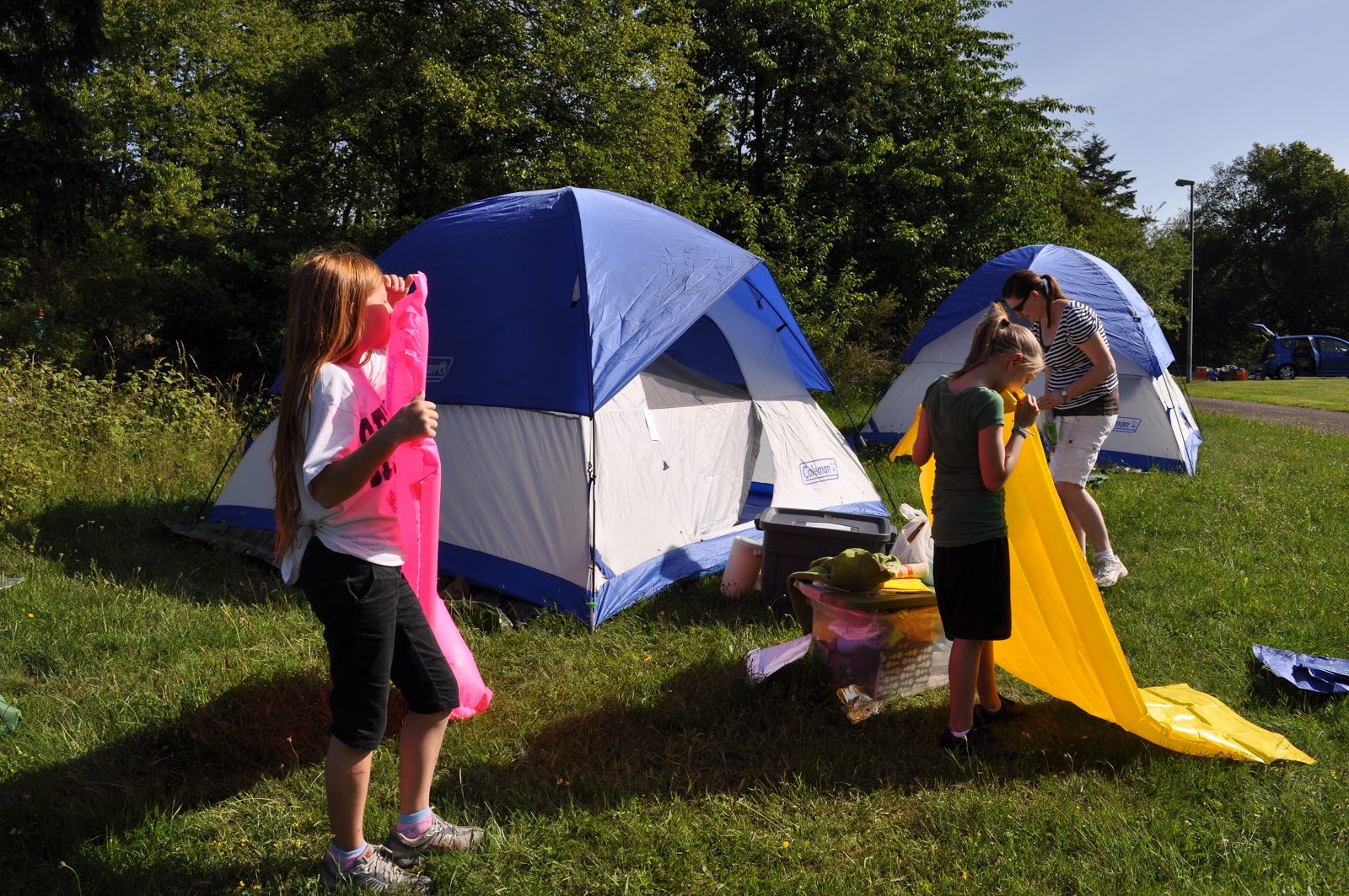Blow Mattresses Camping
