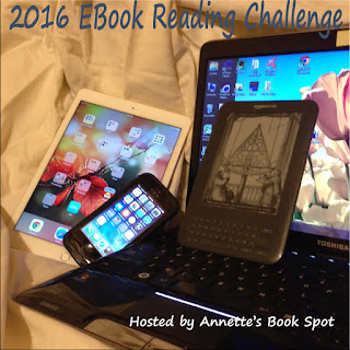 2016 EBook Reading Challenge hosted by Annette's Book Spot