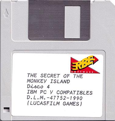 The Secret of Monkey Island Disco 4