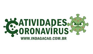 Atividades sobre Coronavírus (COVID-19) para Educação Infantil