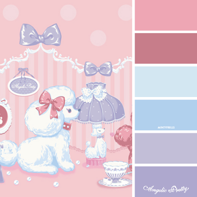 Angelic Pretty Lovely Poodle