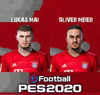 PES 2020 Facepack FC Bayern Youngsters by Raden