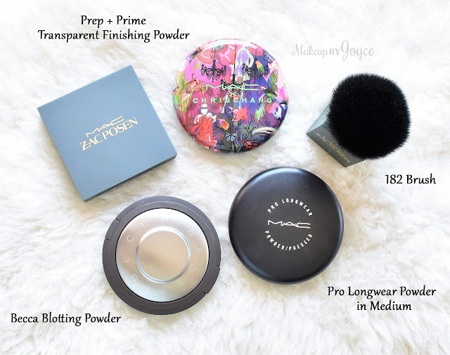 MAC Translucent Blotting Setting Powders Review Collection
