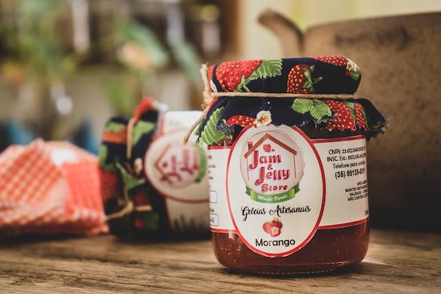 Geleia de Morango - Jam & Jelly Store